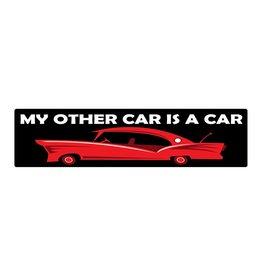 Bumper stickers car is car