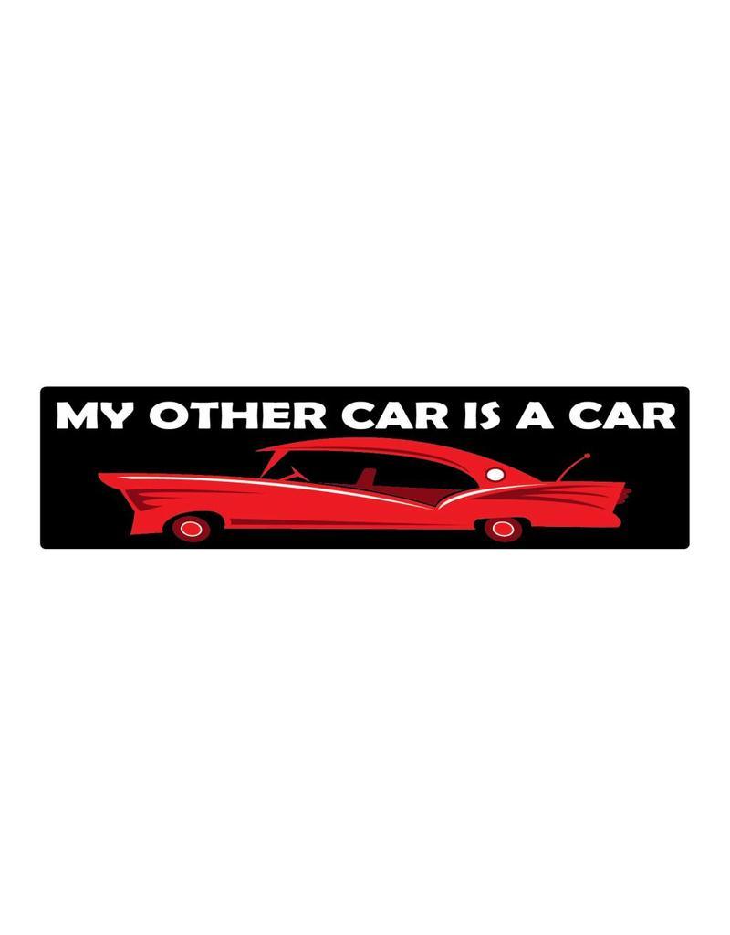 Pegatina de topes car is car