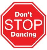 Autocollants voiture don't stop dancing