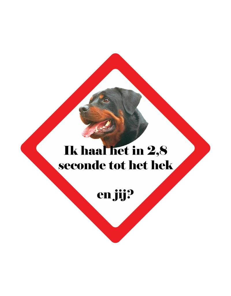 Auto sticker hond race
