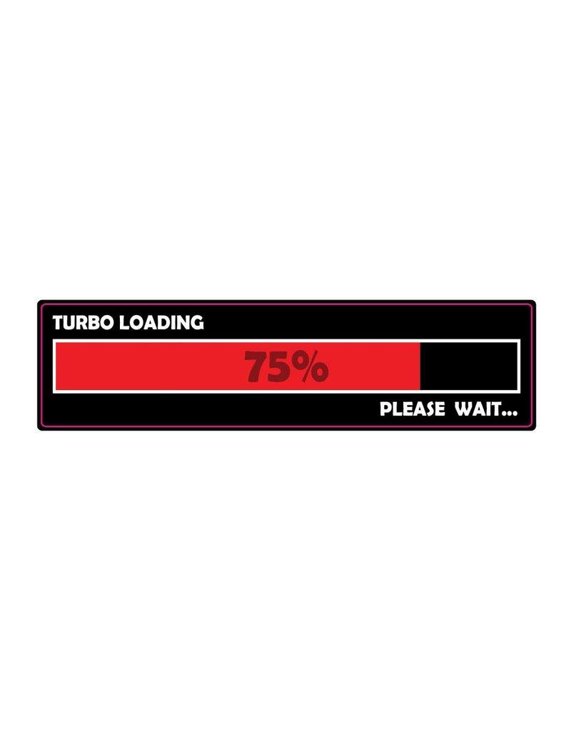 Bumper sticker loading