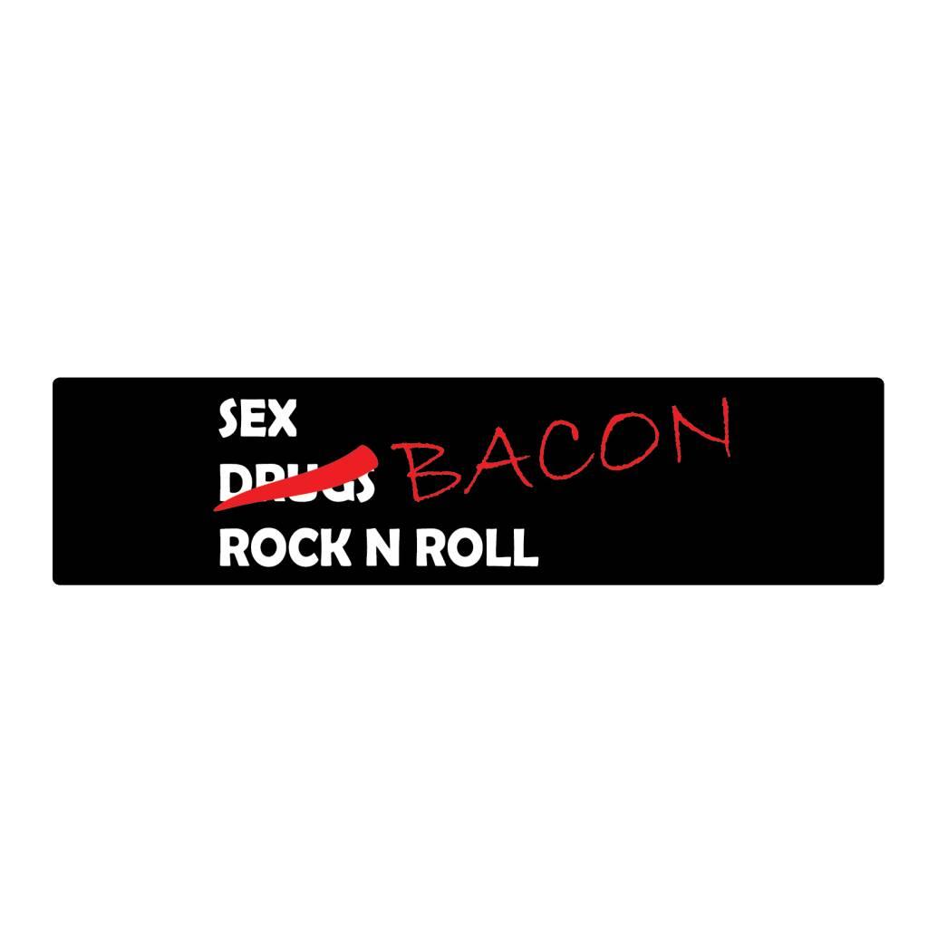 Stoßstange Aufkleber bacon
