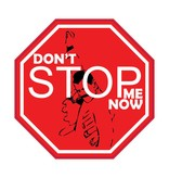 "Autosticker don't stop me ""black"""