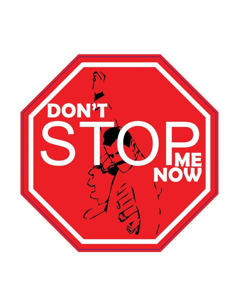"""Autosticker don't stop me """"black"""""""
