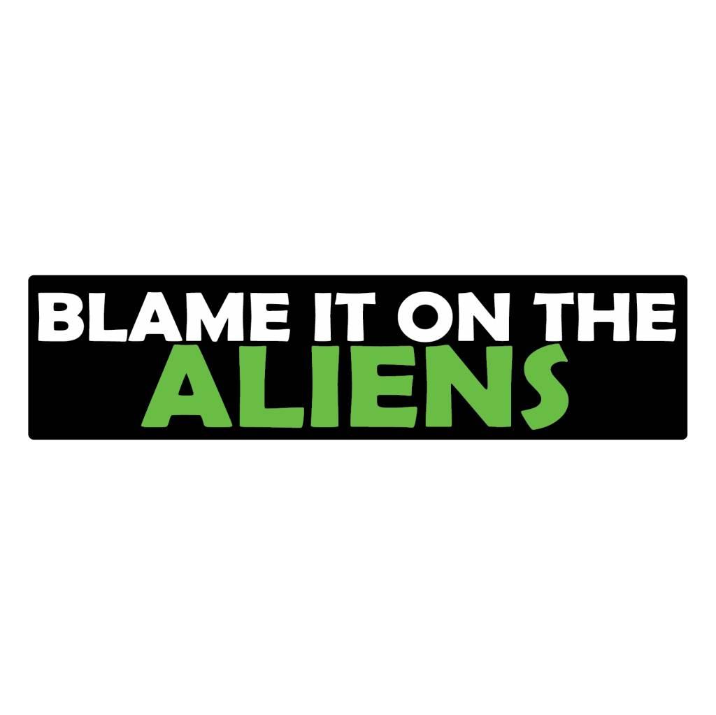 Stoßstange Aufkleber Aliens