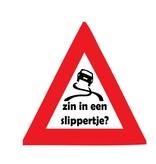 "Car sticker ""slippertje?"""