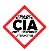 Autocollants voiture CIA