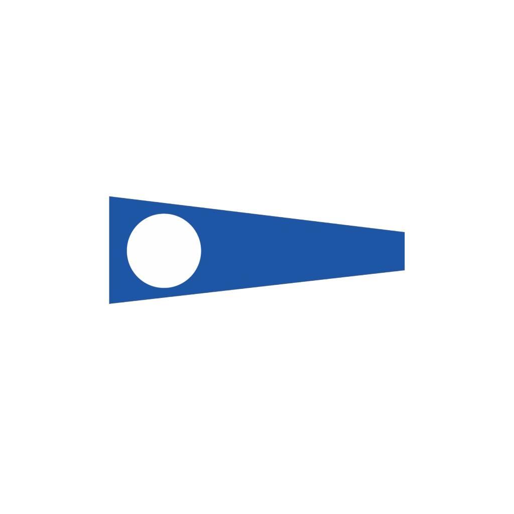 Nautische 2 Flagge Sticker