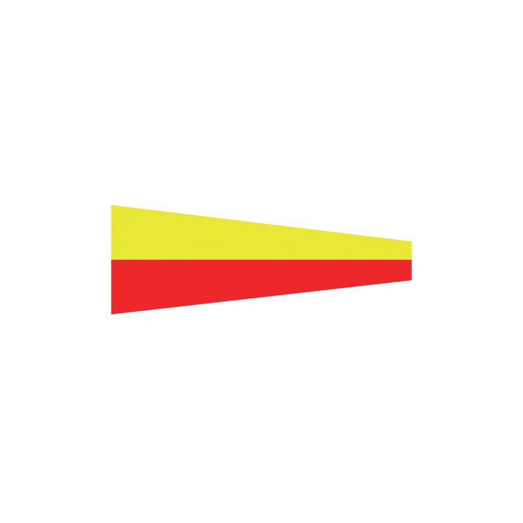 Pegatina bandera marítimo 7