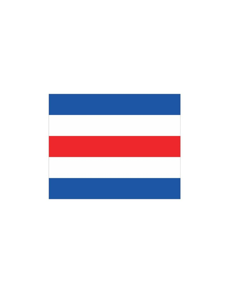 Maritiem C vlag Sticker