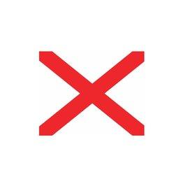 Nautische V Flagge Sticker