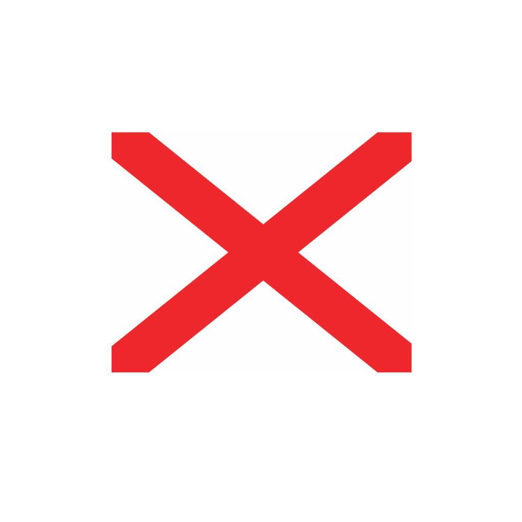 Maritime  V flag Sticker