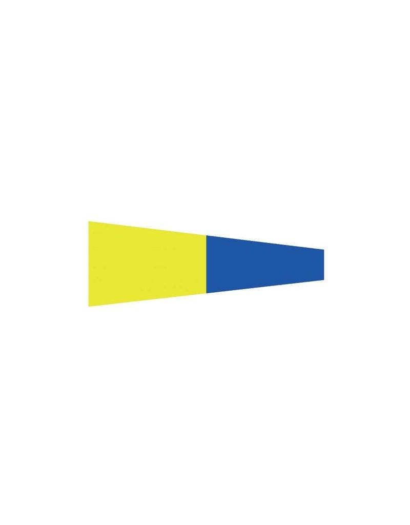 Nautische 5 Flagge Sticker