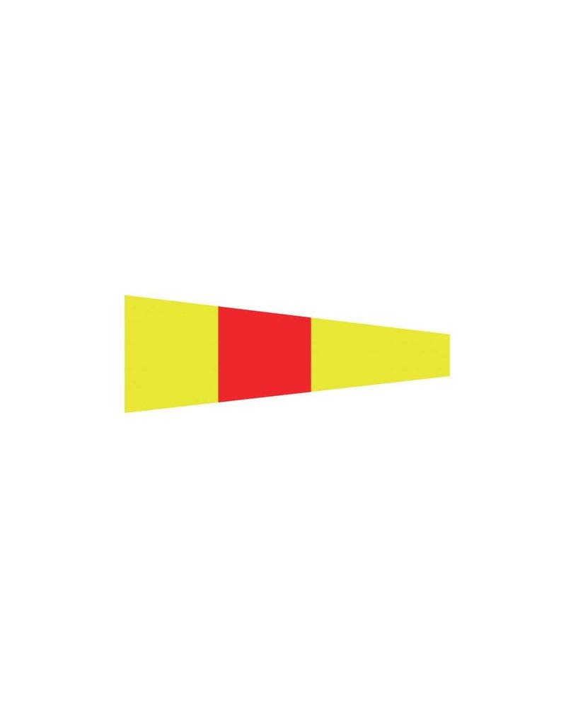 Maritime 0 drapeau autocollant