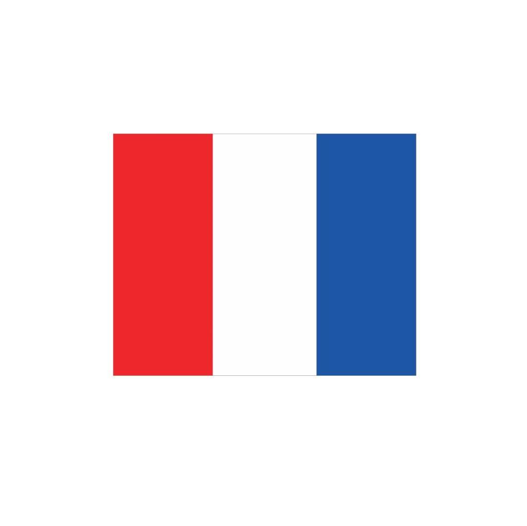 Maritiem T vlag Sticker