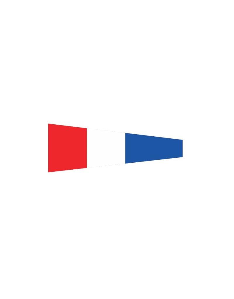Maritiem 3 vlag Sticker