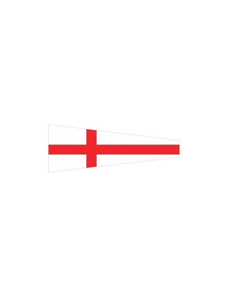 Nautische 8 Flagge Sticker