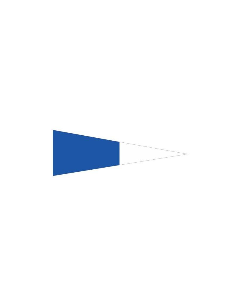 Maritime 2eme drapeau autocollant