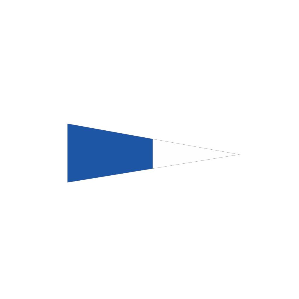 Pegatina bandera marítimo 2o