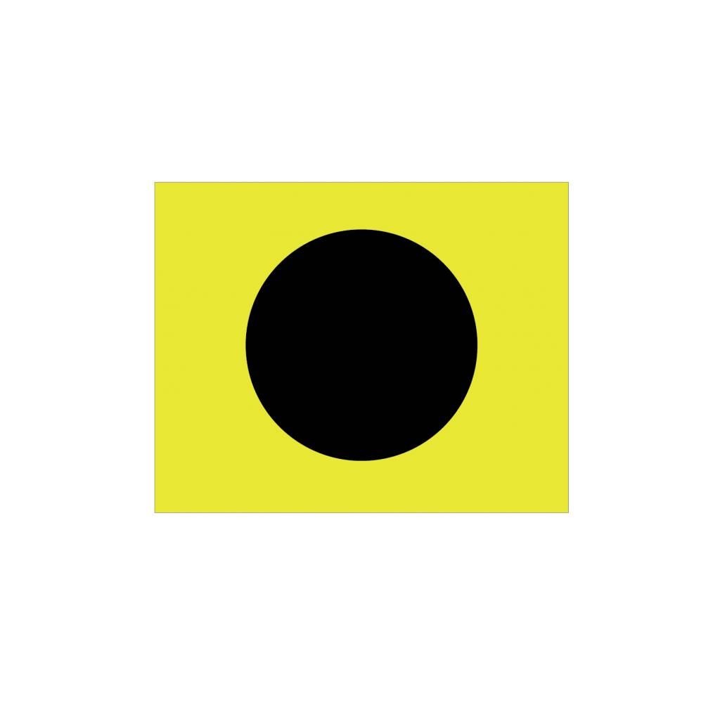 Nautische I Flagge Sticker