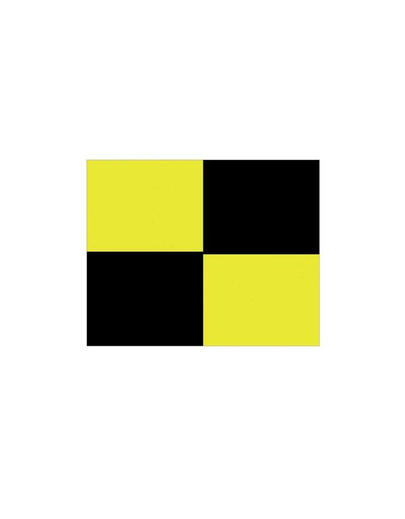 Nautische L Flagge Sticker