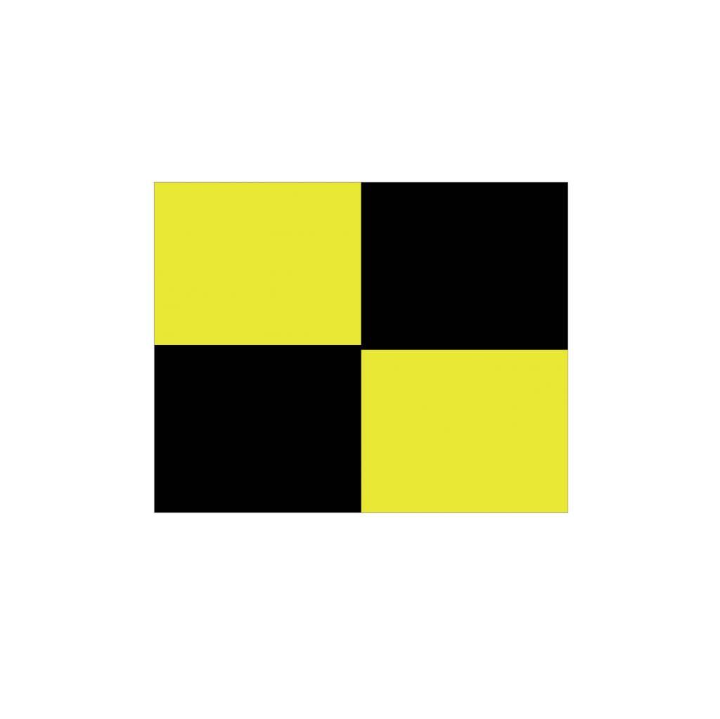 Maritiem L vlag Sticker