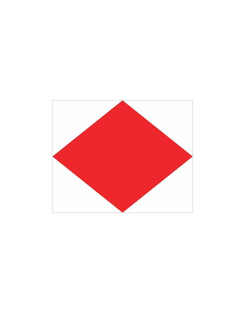 Maritime  F flag Sticker