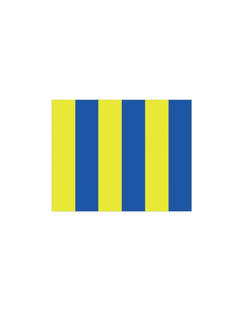 Nautische G Flagge Sticker