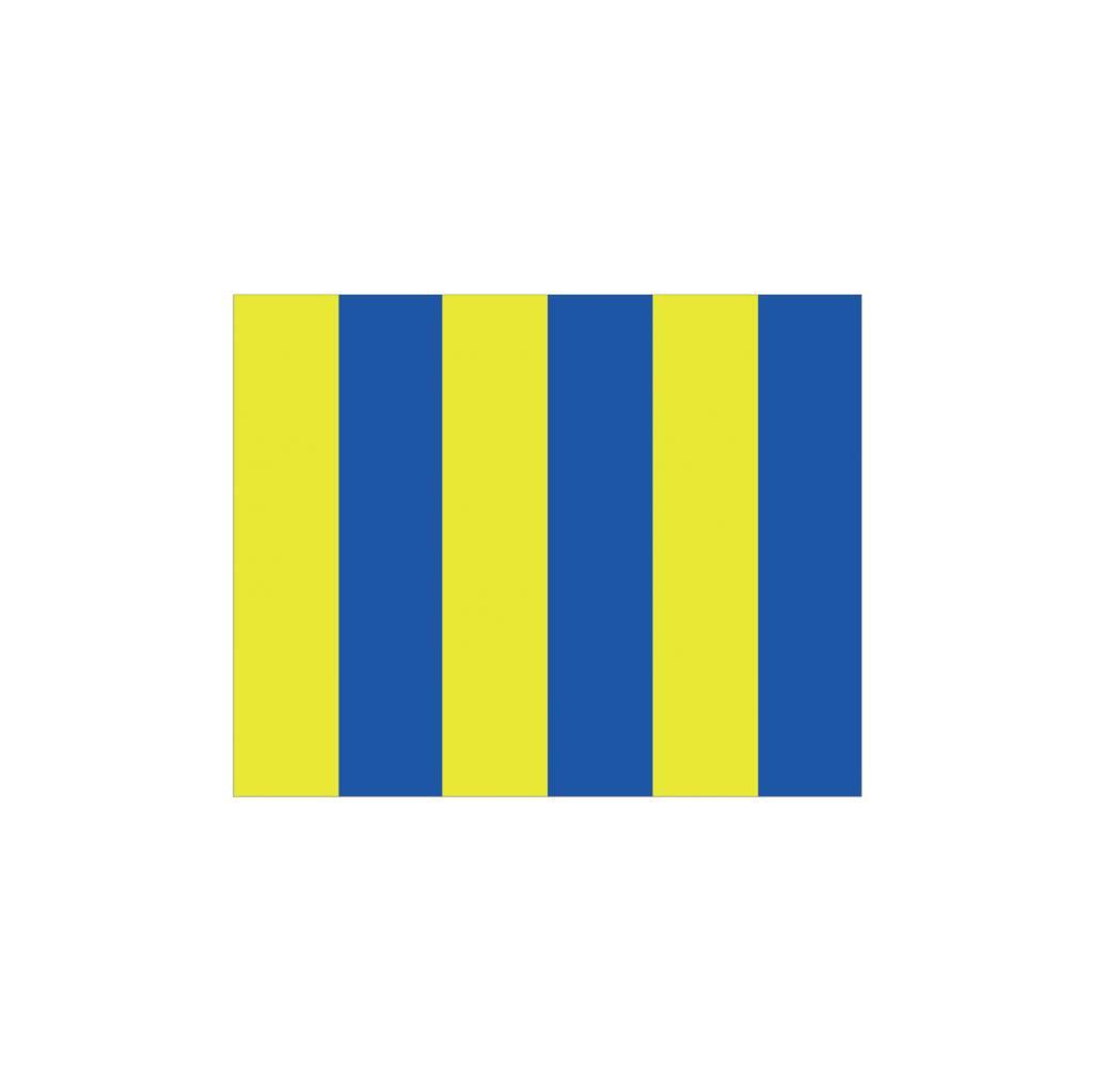 Maritiem G vlag Sticker