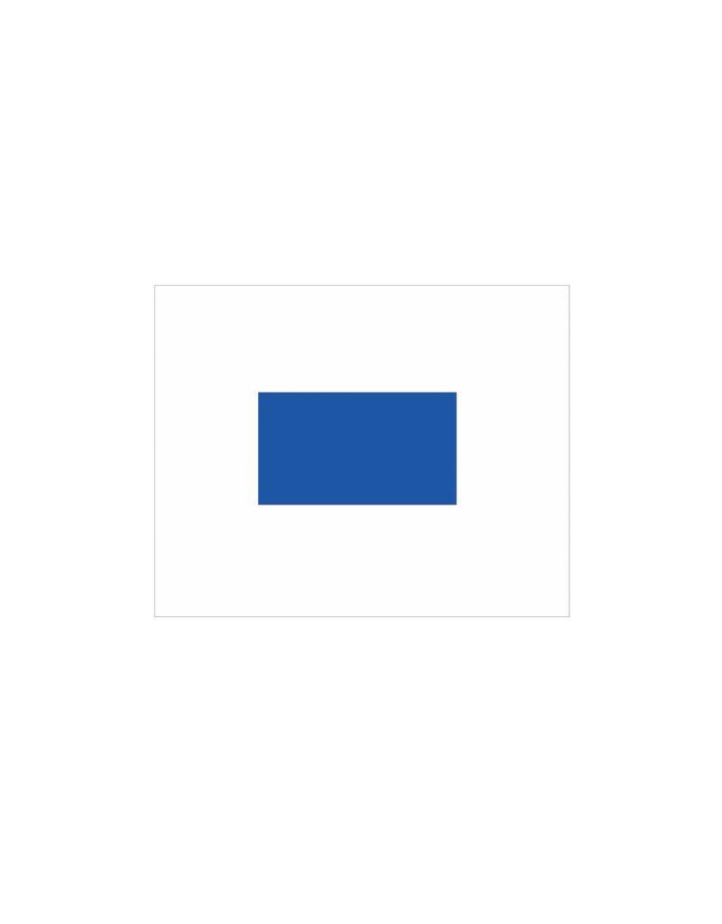 Nautische S Flagge Sticker