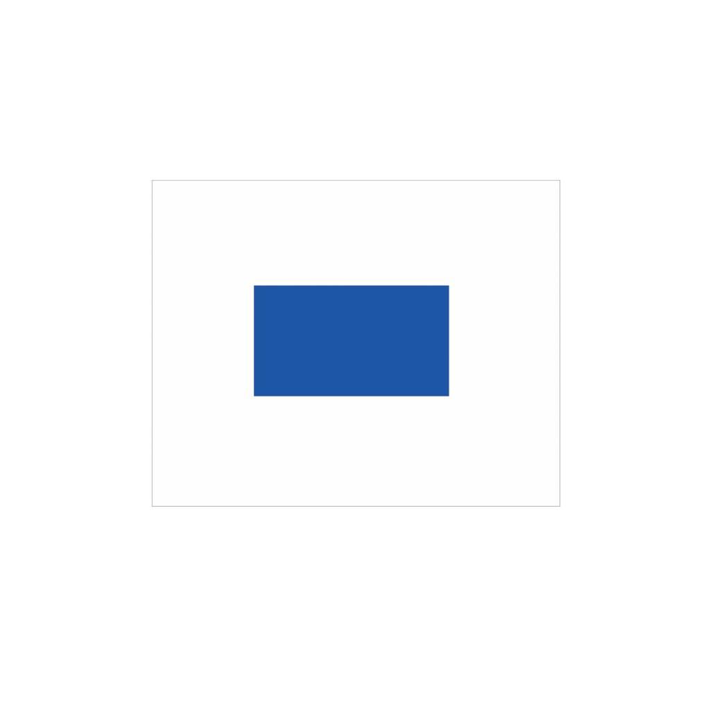 Maritiem S vlag Sticker
