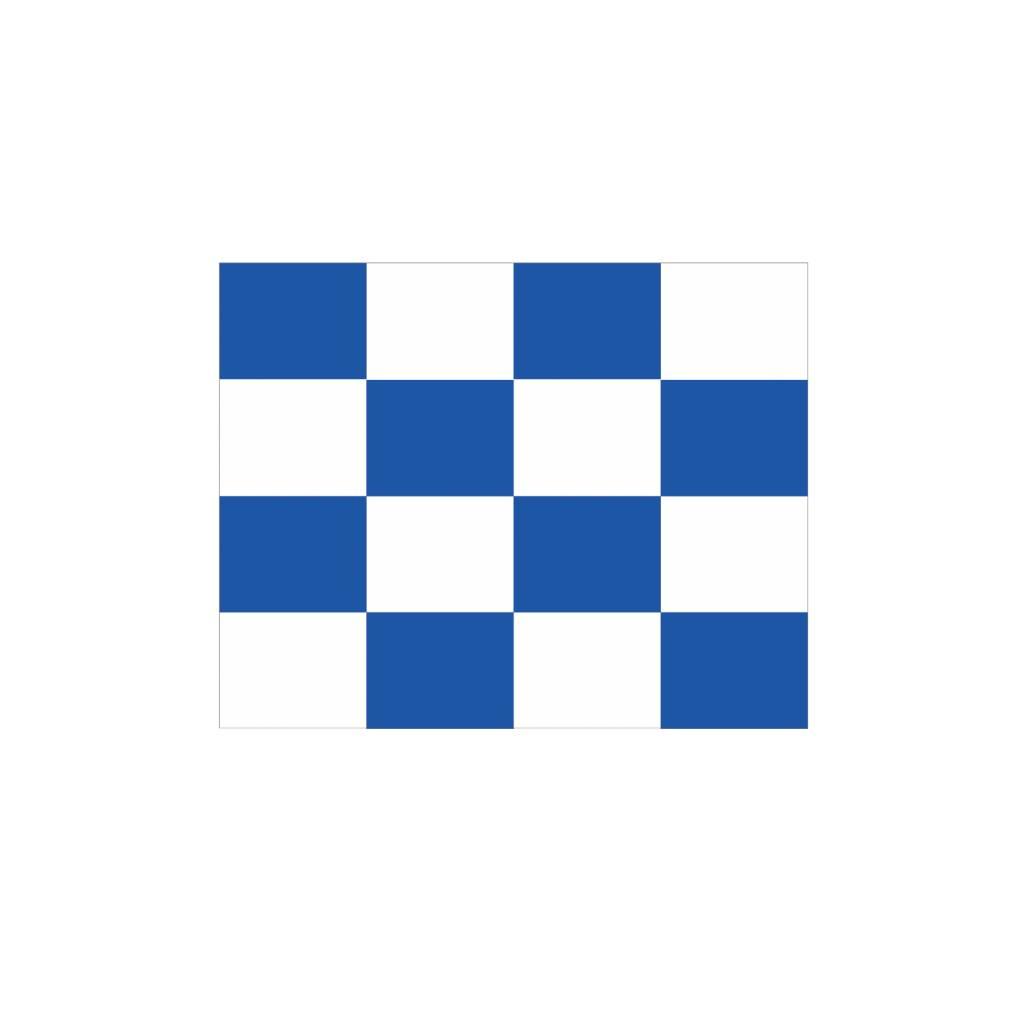 Nautische N Flagge Sticker