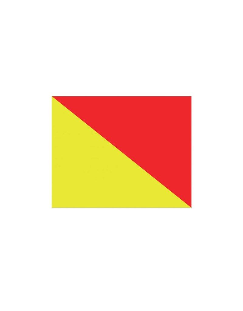 Maritime O drapeau autocollant