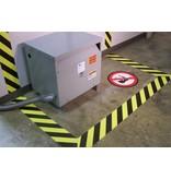 Marcaje al suelo peligro