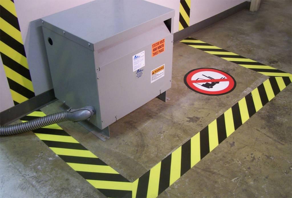 Bodenlineation Gefahren