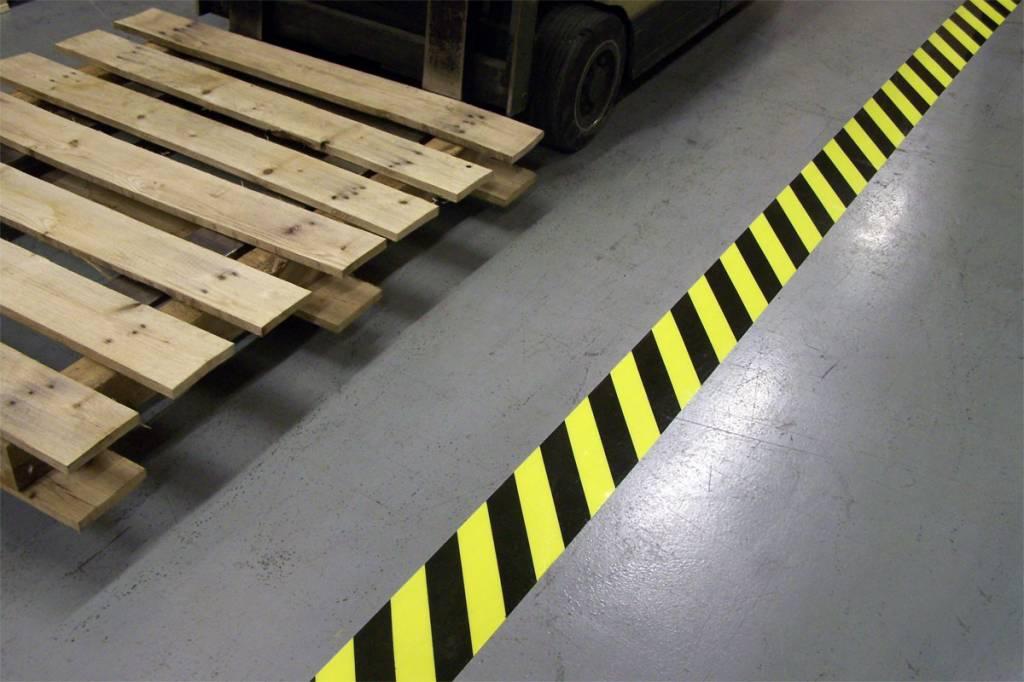 Floor Lineation hazard