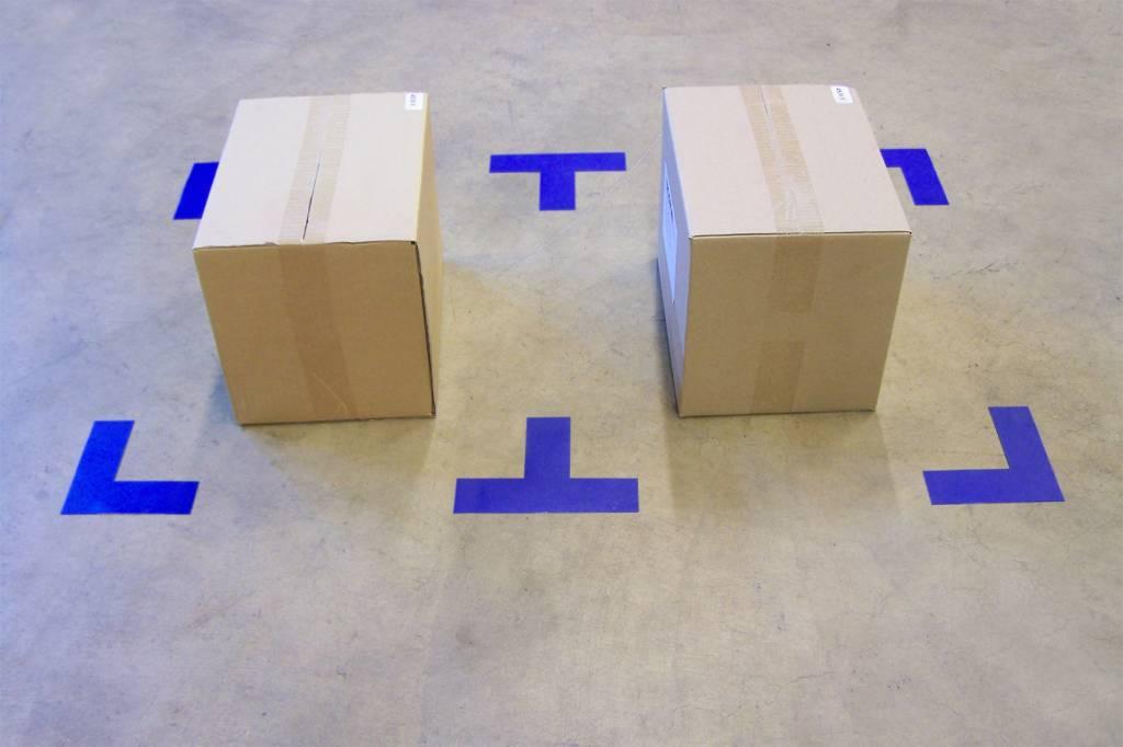 Marcaje al suelo esquina T / + Supremo
