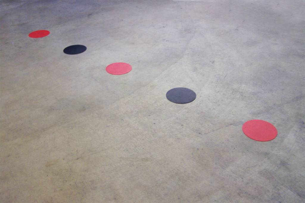 Marcaje al suelo puntos supremo