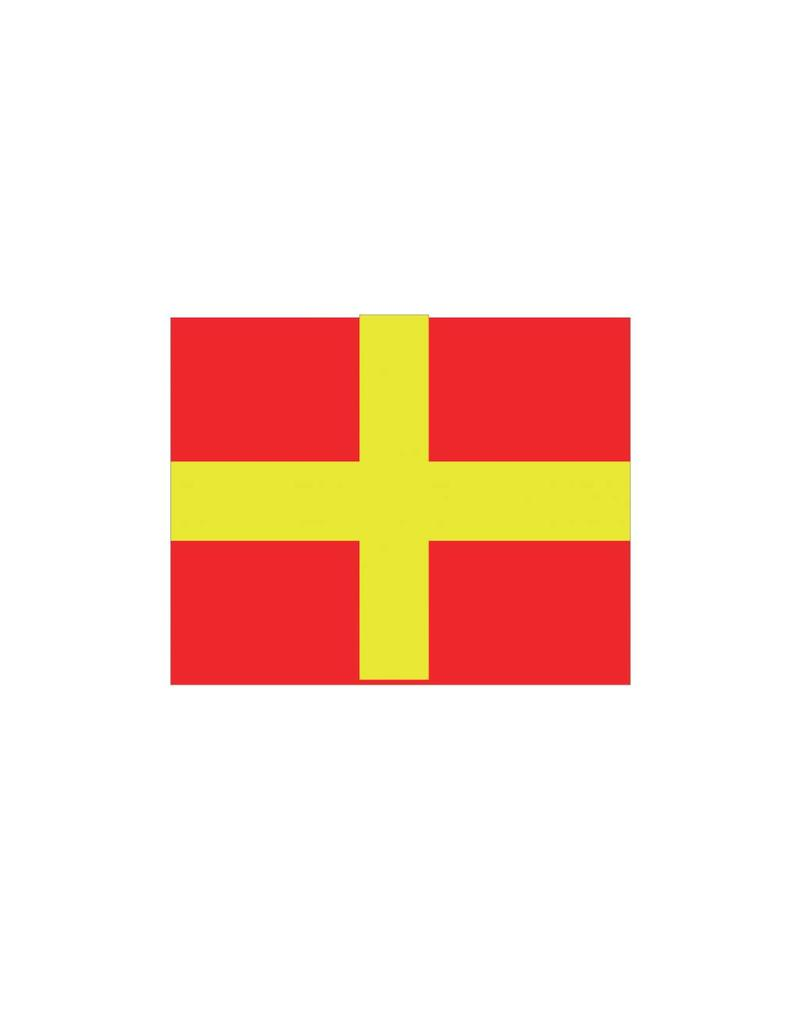 Pegatina bandera marítimo R