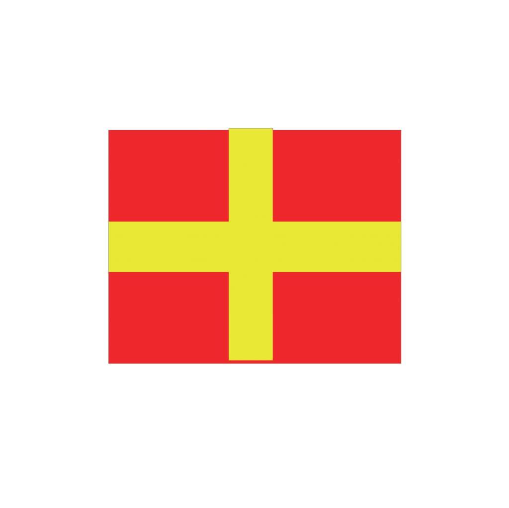 Maritime  R flag Sticker