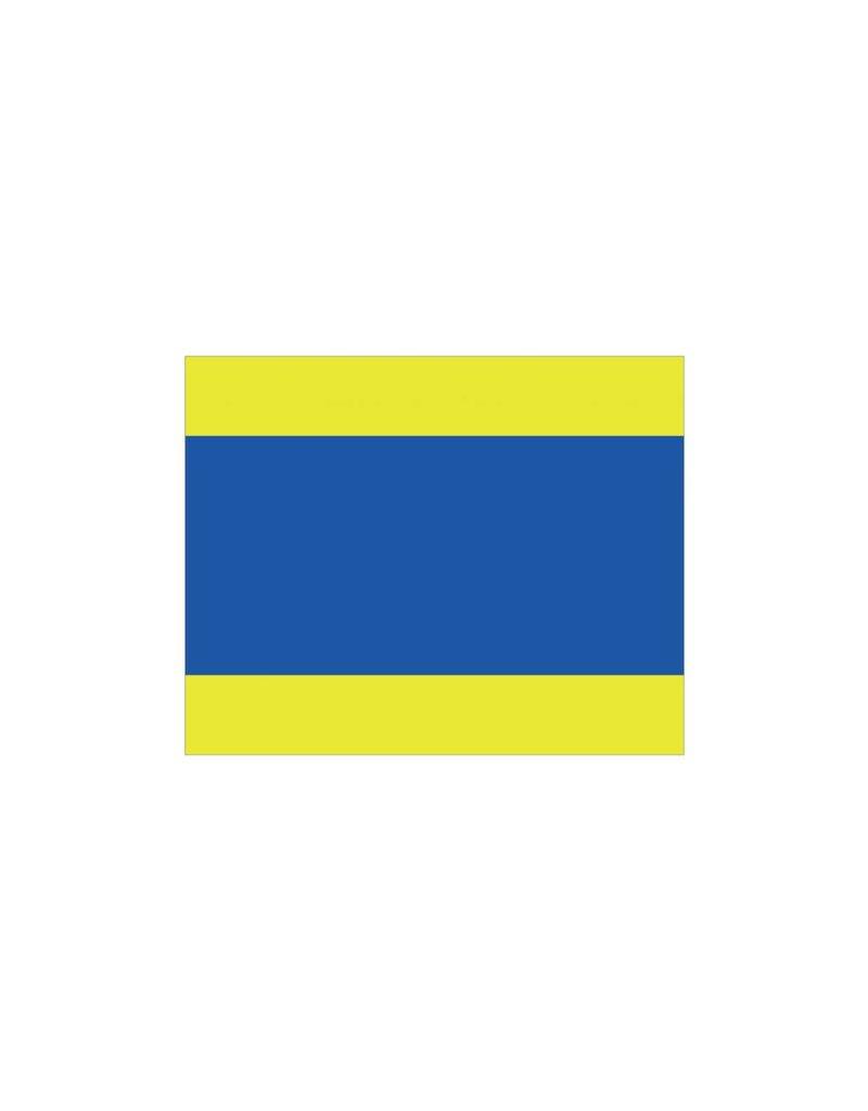 Maritime  D flag Sticker