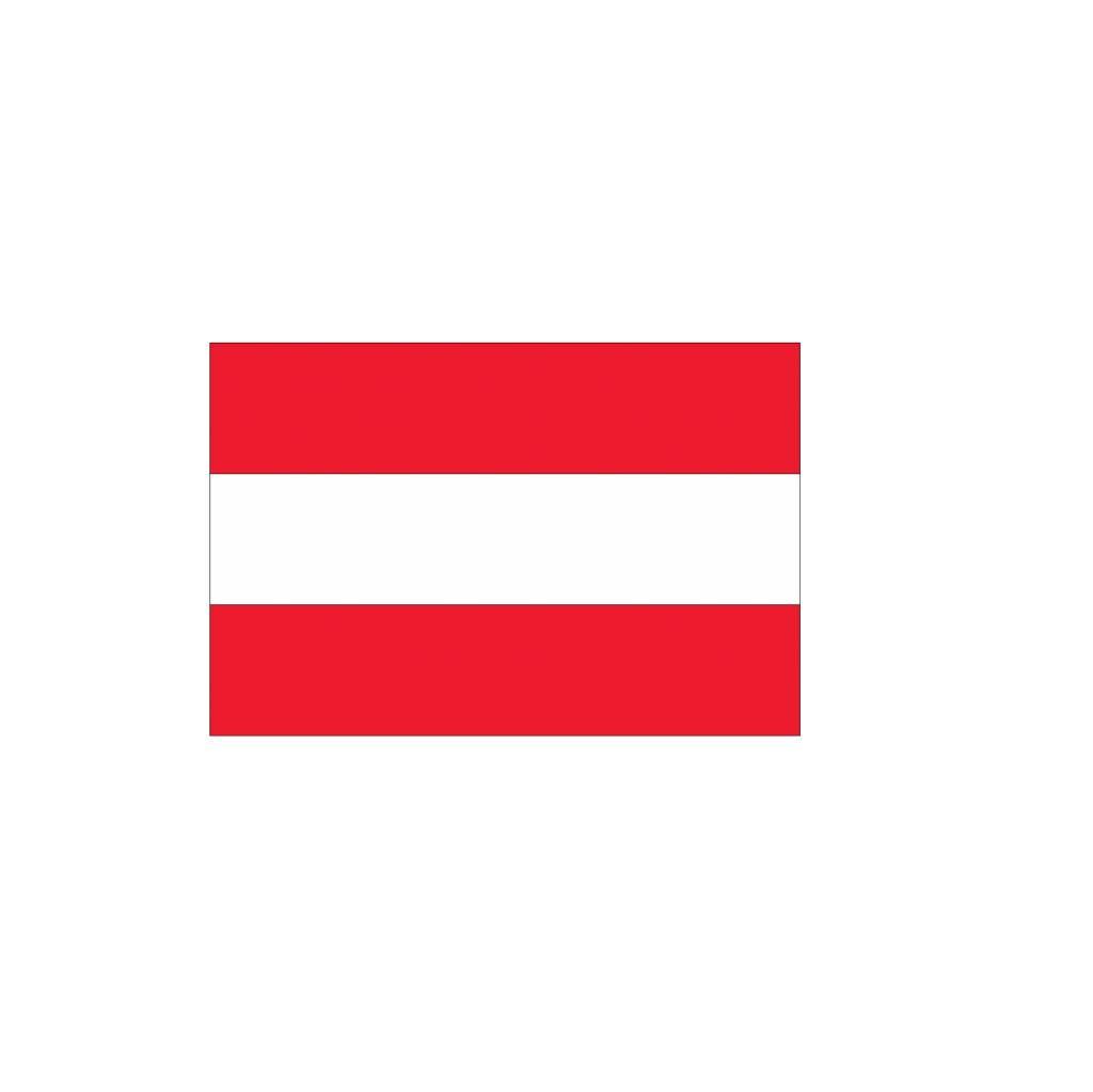Oostenrijkse vlag Sticker