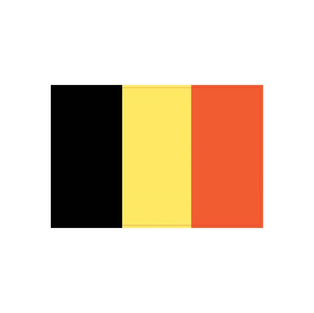 Belgische vlag Sticker