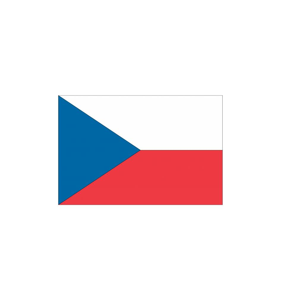 Tsjechische vlag Sticker