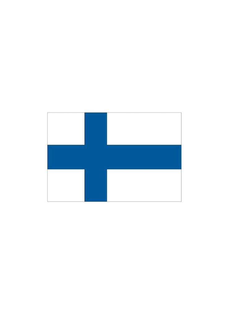 Finse vlag Sticker