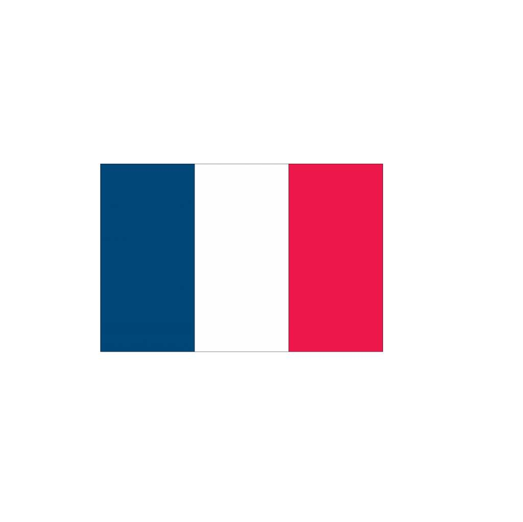 Franse Vlag Sticker Dr Sticker