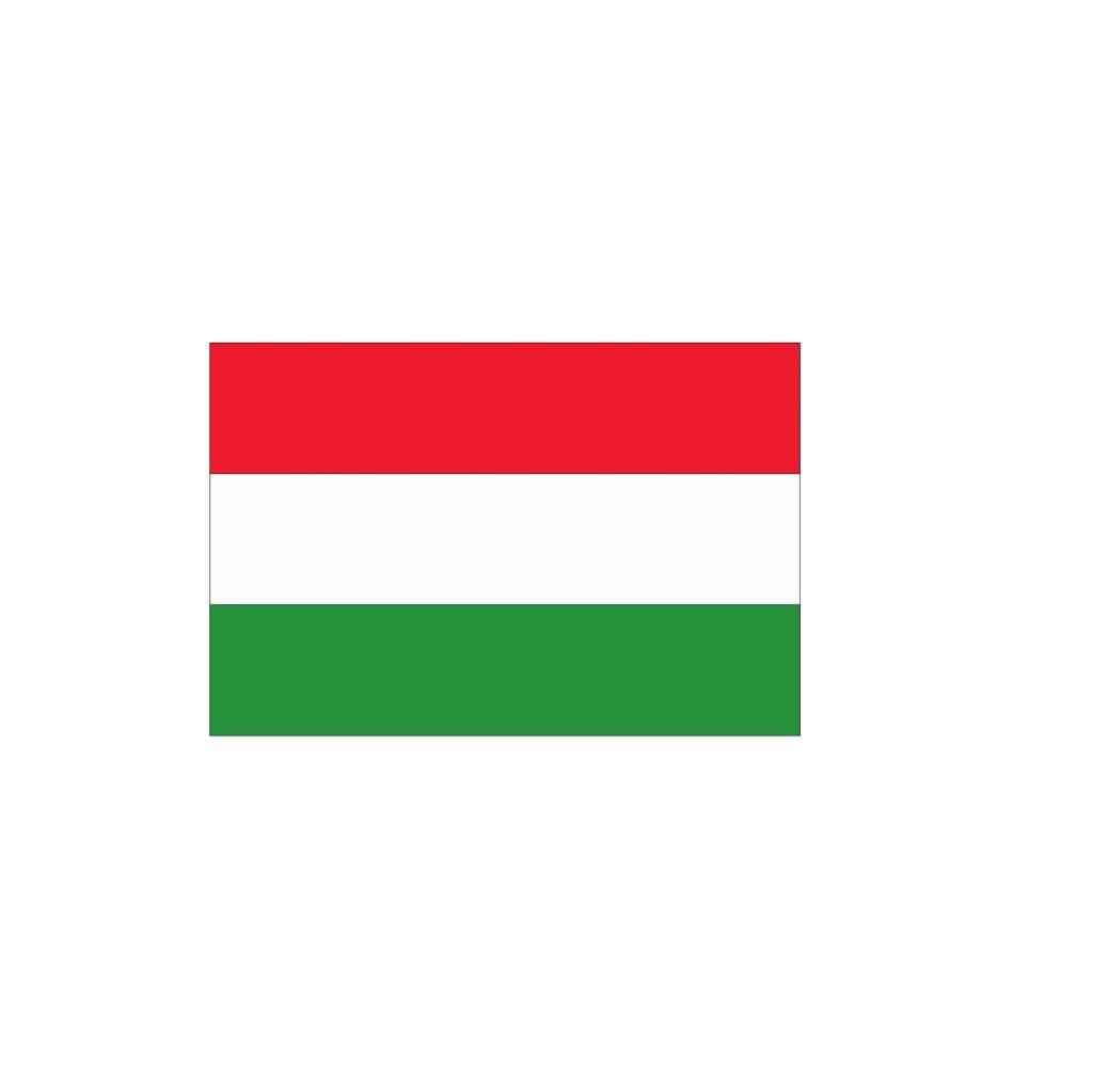 Hongaarse vlag Sticker