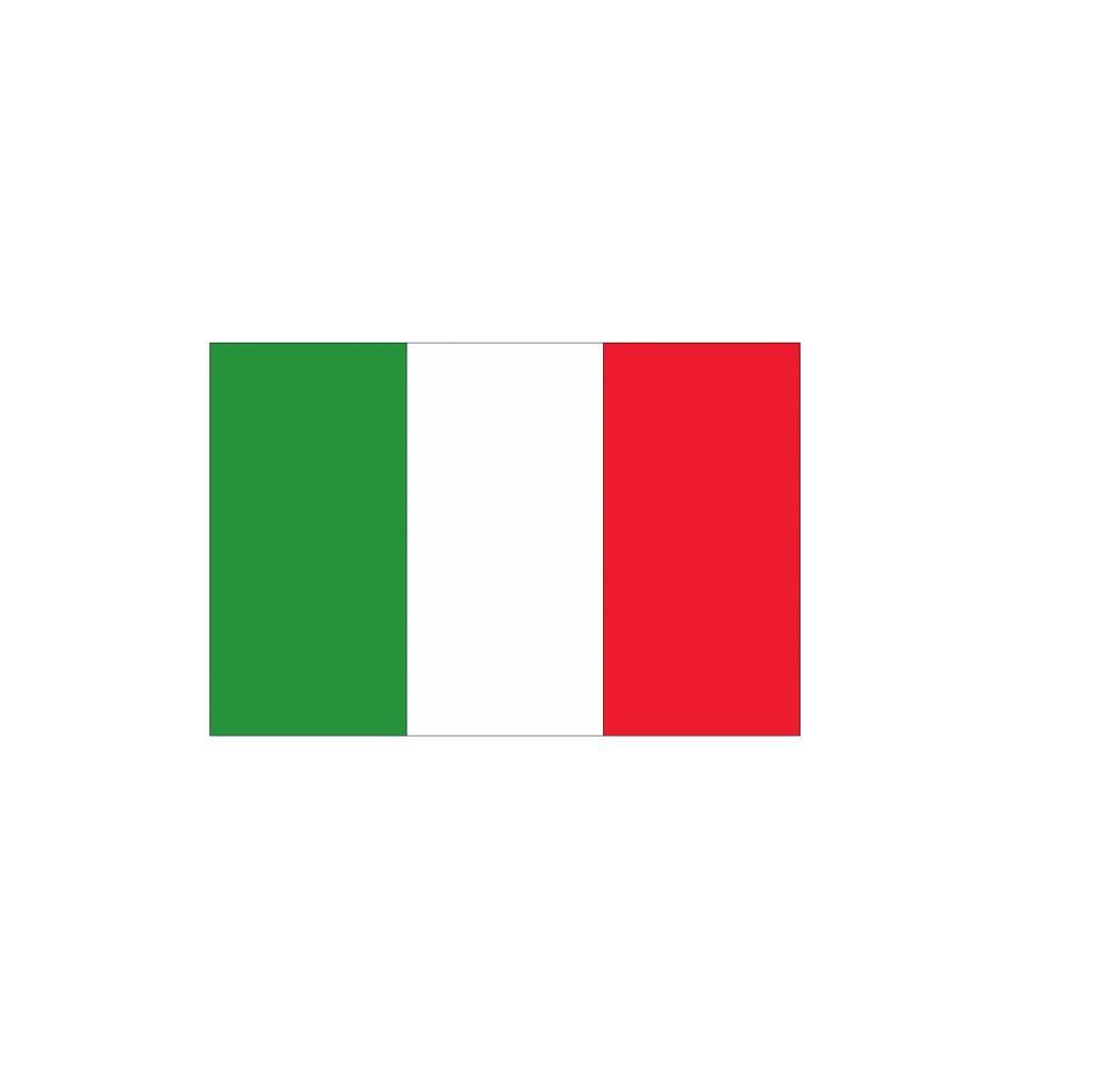 Italiaanse Vlag Sticker Dr Sticker
