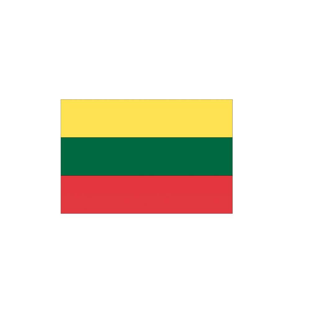 Litouwse vlag Sticker