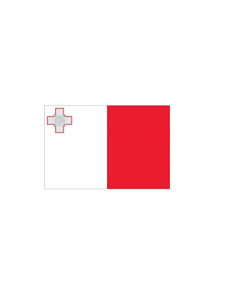 Maltese vlag Sticker